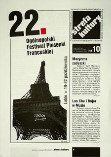 Strefa Kultury : nr 10 (12), październik 2005