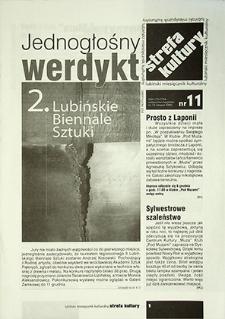 Strefa Kultury : nr 11 (13), listopad 2005