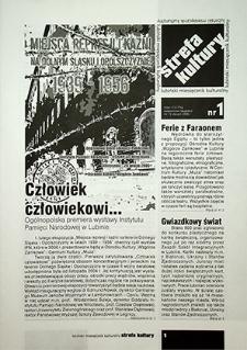 Strefa Kultury : nr 1 (15), styczeń 2006