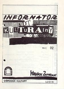 Informator Kulturalny : maj `92
