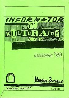 Informator Kulturalny : marzec `93