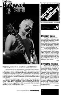 Strefa Kultury : nr 9 (11), wrzesień 2005