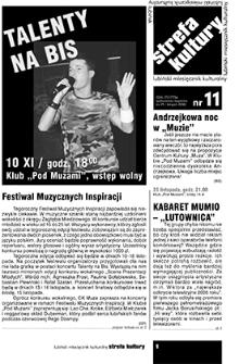 Strefa Kultury : nr 11 (25), listopad 2006