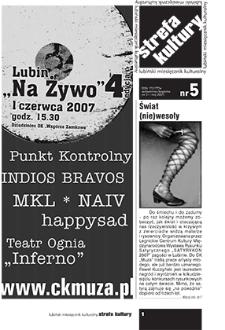 Strefa Kultury : nr 5 (31), maj 2007