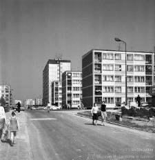 Ulica Cedyńska, z widokiem na ulicę Mickiewicza