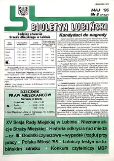 Biuletyn Lubiński : nr 8 (57), maj `95