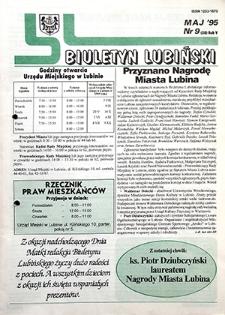 Biuletyn Lubiński : nr 9 (58), maj `95