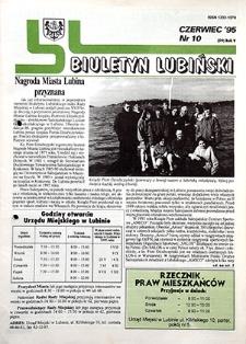 Biuletyn Lubiński : nr 10 (59), czerwiec `95