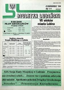 Biuletyn Lubiński : nr 11 (60), czerwiec `95