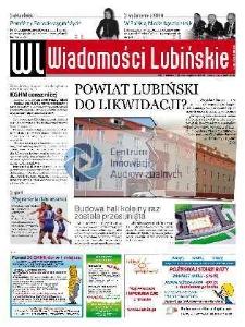 Wiadomości Lubińskie : nr 81 (84), wrzesień (październik) 2008