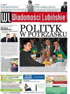 Wiadomości Lubińskie : nr 103, marzec 2009