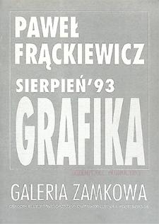 Paweł Frąckiewicz : Grafika