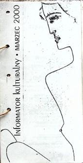 Informator Kulturalny : marzec 2000