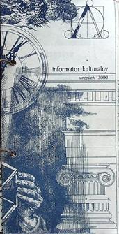 Informator Kulturalny : wrzesień 2000