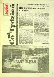 Co Tydzień Solidarność : nr 10 (61), maj `94