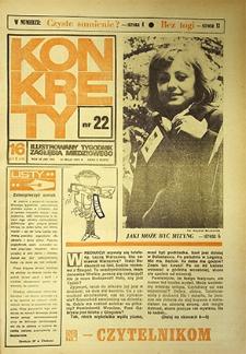 Konkrety : nr 22 (107), maj `74
